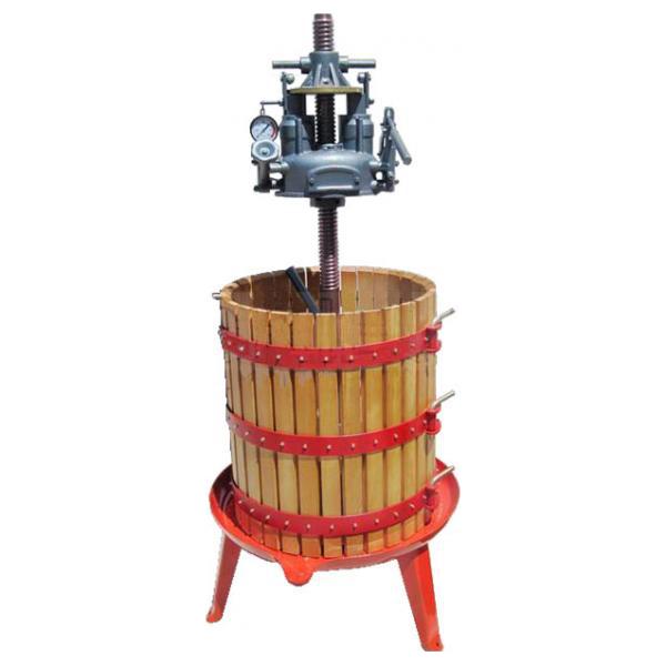Hydraulische Presse für Weintrauben