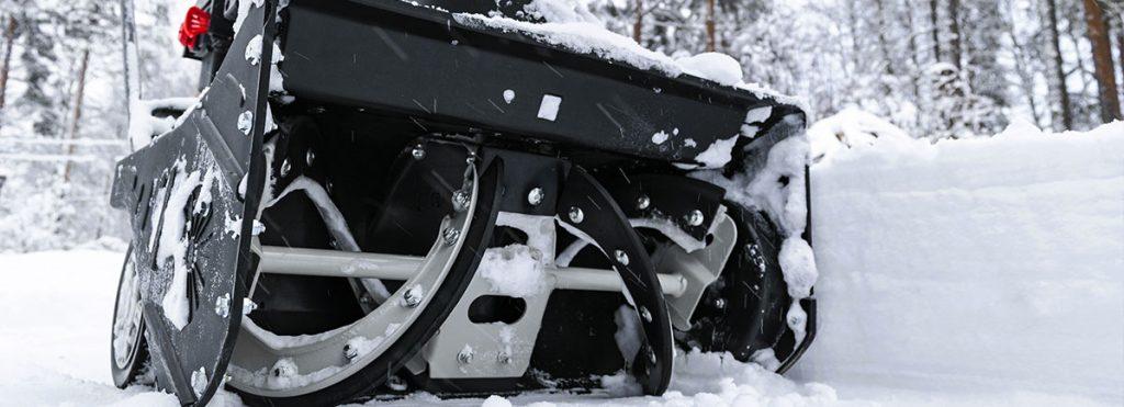 Fräse des Schneepflugs